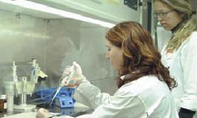 Лаборатория Института генетики