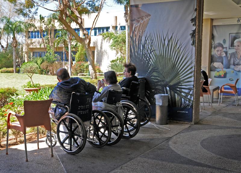 Веранда реабилитационного центра